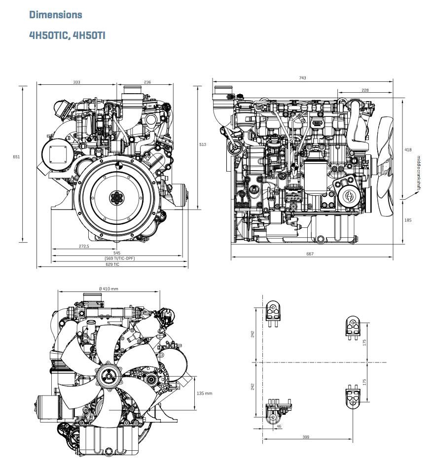 4h50tic Engine Solutions Hatz Diagram As Open Power Unit 255 562